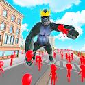Kong Gorilla Legend Hero City Rush icon