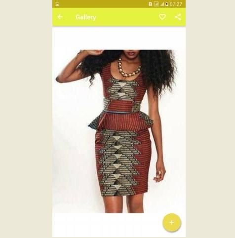 Latest African Dress Design- screenshot