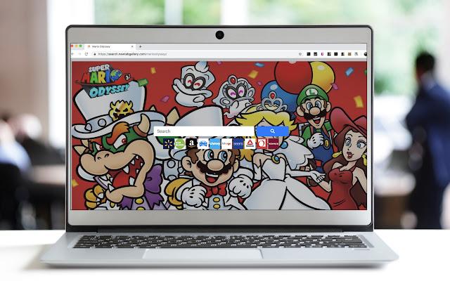 Super Mario Odyssey Search
