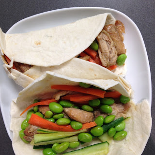 Honey-Soy Chicken Wraps