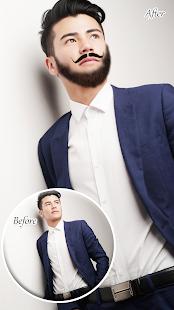 Boy Photo Editor : Man Beard Mustache - náhled