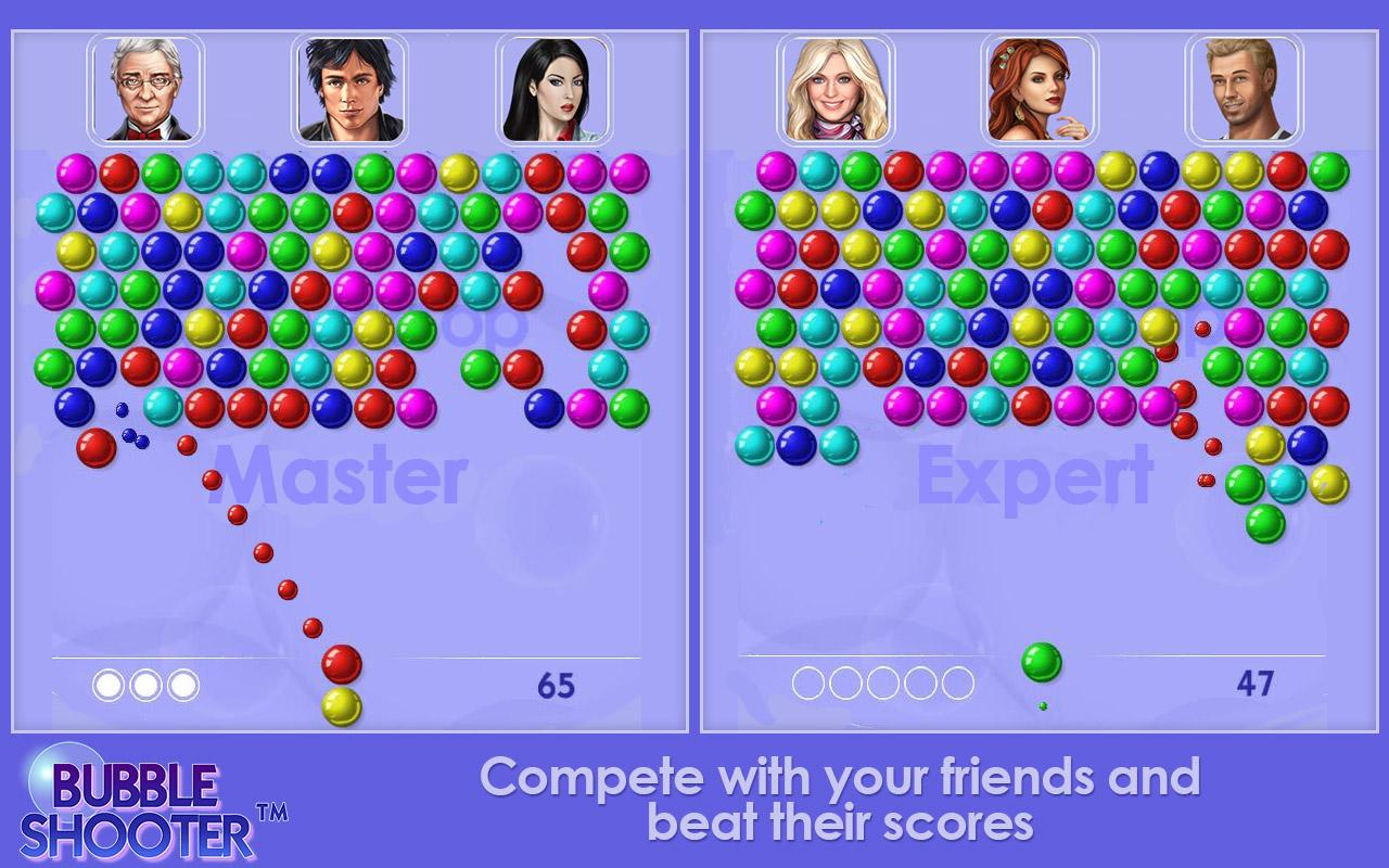 Bubble Shooter Classic Free- screenshot