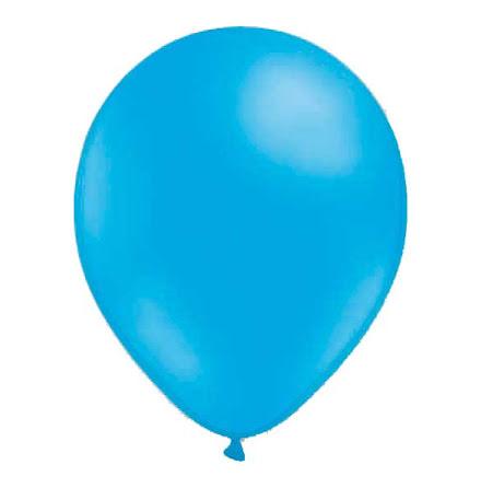 Ballonger - Ljusblå