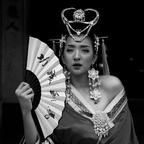 by Glenn Valentino - Black & White Portraits & People (  )