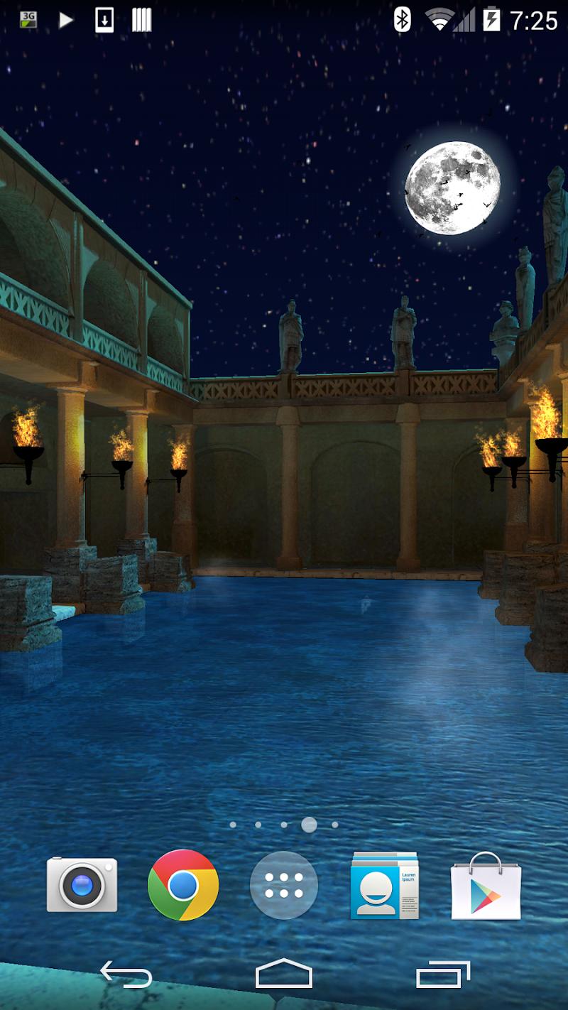 Скриншот Roman Bath 3D Trial Version