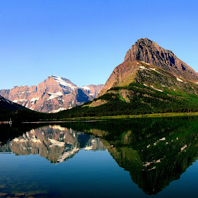 Beauty of reflection by Awesome Pics - Landscapes Mountains & Hills ( water, hills, mountains, water reflection, nature, scenic, landscape, reflection, reflections, people, places, architecture, building,  )