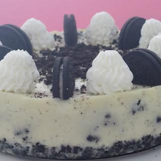 Cookies and Cream Cheesecake.