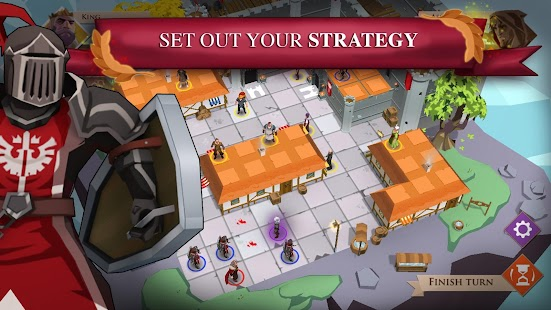 King and Assassins: The Board Game Screenshot