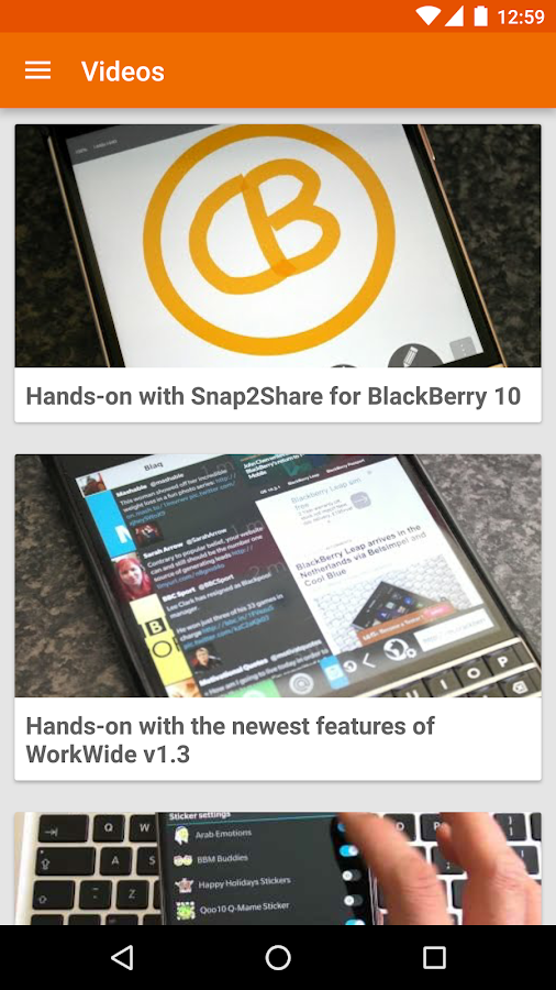 CrackBerry — The App!- screenshot
