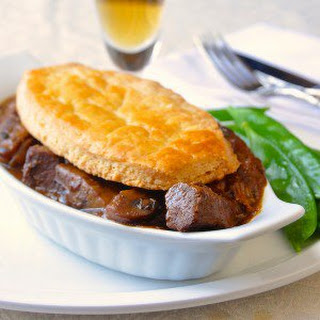 Souvlaki Braised Lamb Pie.