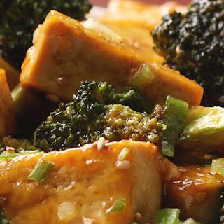 Chinese Takeout-Style Tofu And Broccoli.