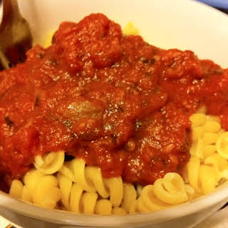 Pasta Sauce No Sugar No Oil Recipes.