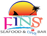 Logo for FINS Seafood & Dive Bar