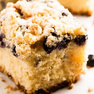 Sour Cream Lemon Blueberry Coffee Cake Recipe