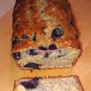 Our Favorite Blueberry Banana Oatmeal Bread.