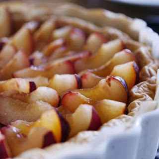French Plum Pie With Crumb Topping