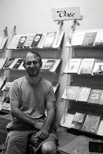 Photo: Deniz Gündüz, Kurdish writer writing in Dimli dialect, Vate Publishing House, Istanbul 2013