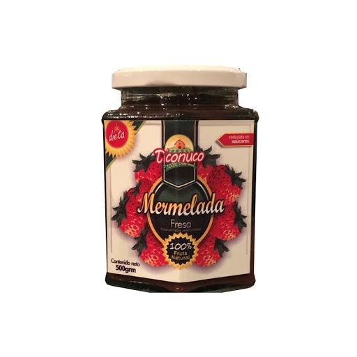 mermelada sin azucar conuco sabor a fresa 500g
