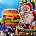 Santa Restaurant Cooking Game icon