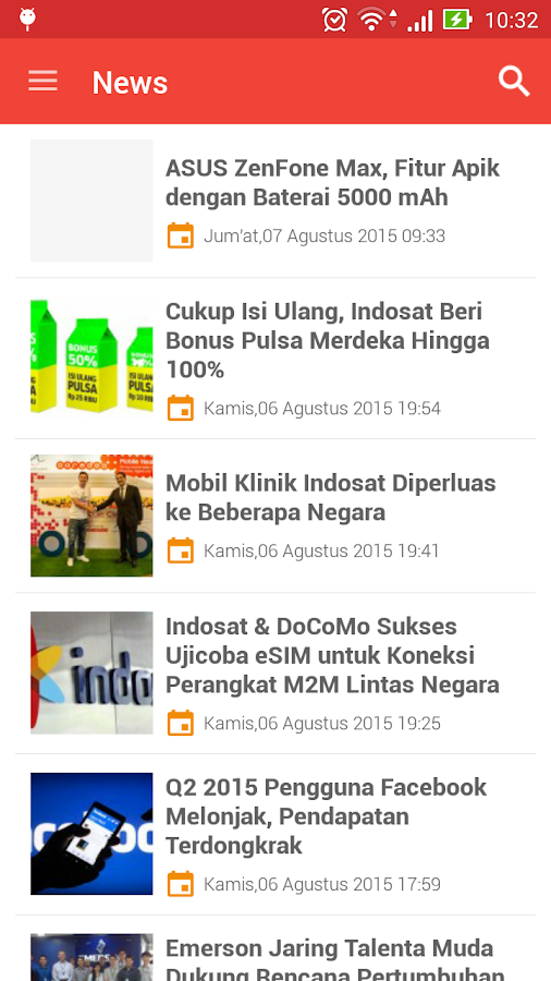 Tabloid PULSA- screenshot
