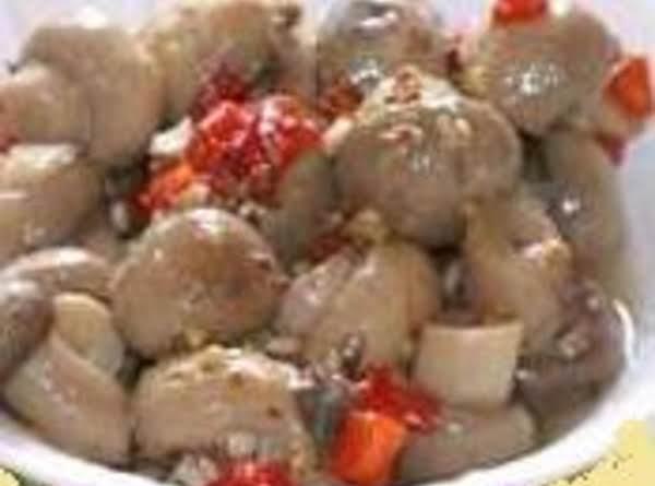Olive's Pickled Mushrooms