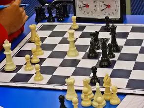 Photo: My Round 5, midgame..