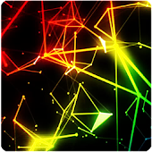 Abstract Particles Wallpaper