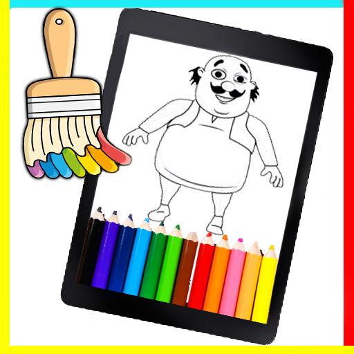Coloring Book motu patlu