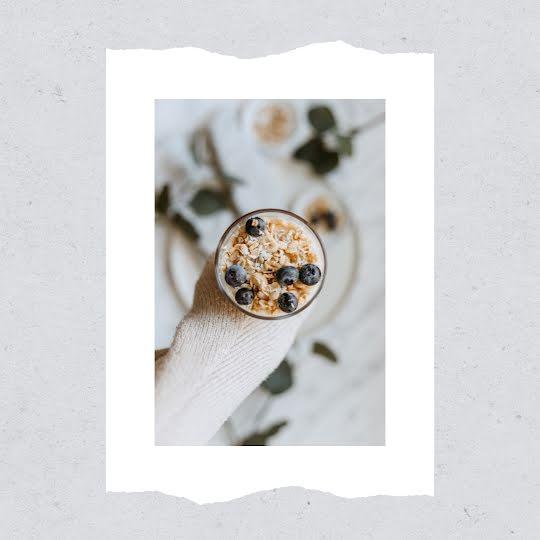 Minimal Muesli - Instagram Post Template