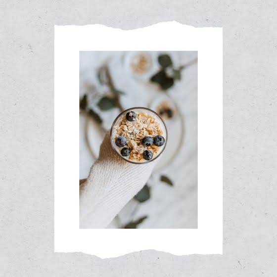 Minimal Muesli - Instagram Post Template