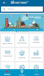 Visit Halal - Interactive Halal Directory - náhled