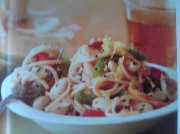 Easy Pasta And Pepper Primavera Recipe