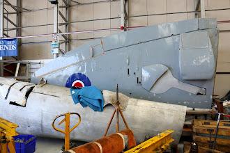 Photo: Supermarine Spitfire Mk.22 (PK624) v rozsypu. Nebylo by špatné ho časem vidět v luftě.