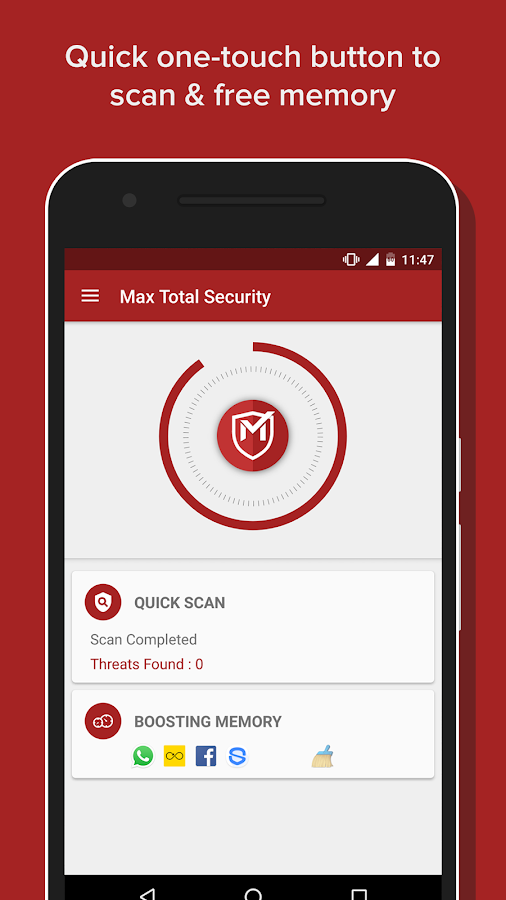 Max Total Security- screenshot
