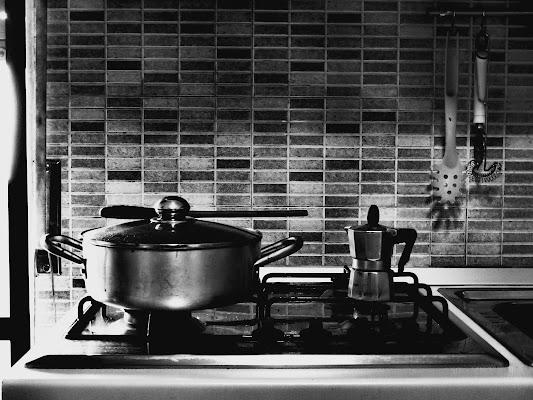 Ragu' prima, caffè dopo. di Alexphoto