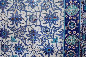 Photo: Day 115 - The Fantastic Tiling in The Rustem Pasa Mosque