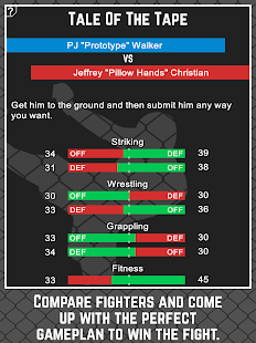 MMA Manager- screenshot thumbnail