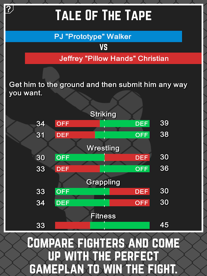 MMA Manager- screenshot