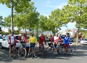 Photo: Les cyclos de l'A.R.Brax au départ de Le Boulou