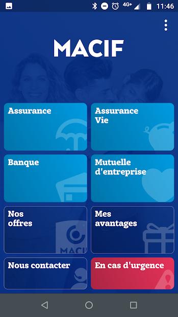 MACIF - Essentiel pour moi Android App Screenshot