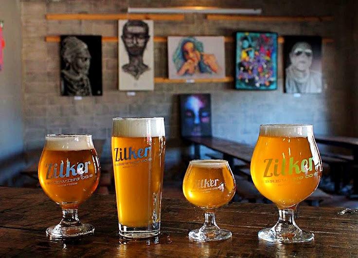 Zilker Brewing Company beers.