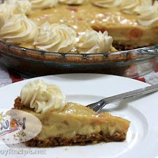 Vanilla Pudding Pie.