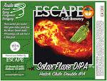 Escape Solar Flare, Hatch green chile double IPA
