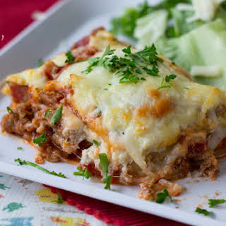 Italian Lasagna (with meat).
