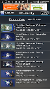 Hawaii News NOW WeatherNOW- screenshot thumbnail
