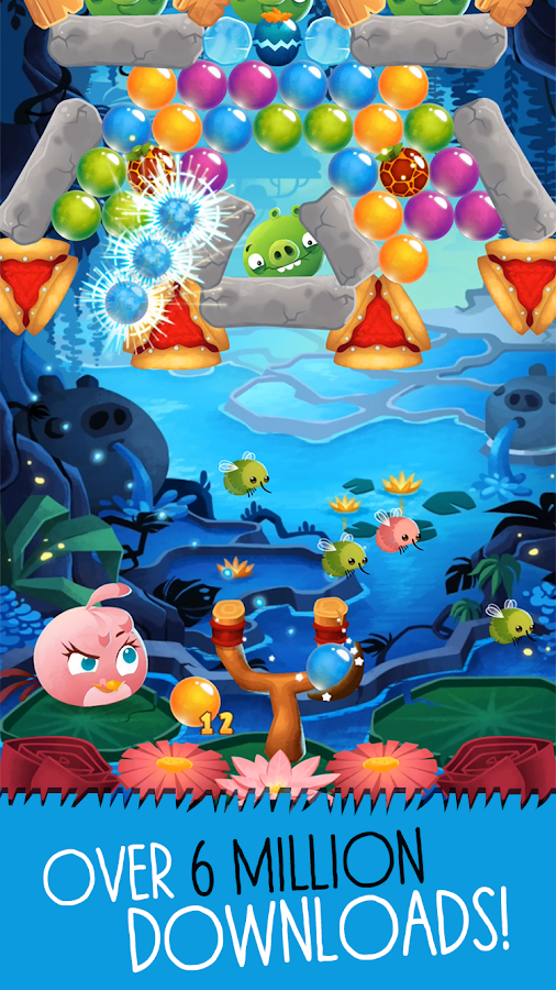 Angry Birds POP Bubble Shooter - screenshot