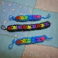 Браслеты из цветных резиночек