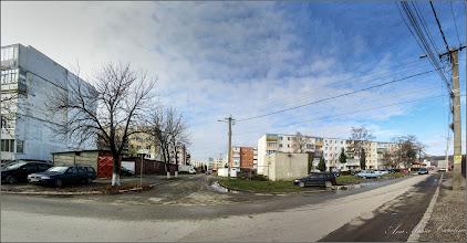 Photo: Str. Haţegului la intersectie cu Str. Zorilor - 2016.11.10