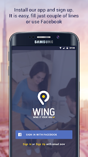Wing - Book a Courier Delivery- screenshot thumbnail