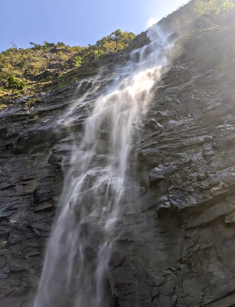 belligundi waterfalls in sharavathi valley+karnataka